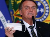 Brezilya Devlet Başkanı Bolsonaro'ya motosiklet konvoyunda maske takmadığı gerekçesiyle para cezası