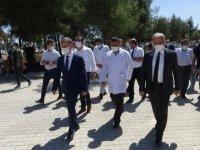 Diyarbakır Valisi Münir Karaloğlu, AMATEM ve ÇEMATEM'de incelemelerde bulundu:
