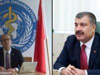 Sağlık Bakanı Koca, DSÖ Avrupa Direktörü Kluge ile video konferansla görüştü: