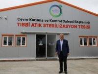 Ordu'da kurulan tesiste tıbbi atıklar sterilize edilecek