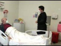 Hastanede tedavisi süren babalar da Babalar Günü'nde unutulmadı