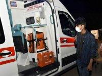 Gümüşhane'de Kovid-19 hastası Afgan uyruklu genç karantinaya alındı