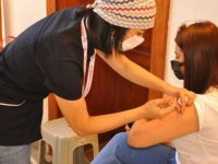 Karaman'da 2 bölgede Kovid-19 aşı uygulama noktası oluşturuldu