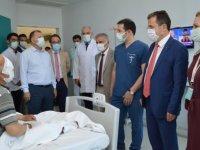 Muğla'da katarakt ameliyatı sonrası görme kaybı yaşayan hastaya kadavradan kornea nakledildi