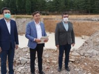 AK Parti Kırşehir Milletvekili Kendirli, kentteki sağlık yatırımlarını inceledi