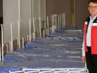 Isparta'da yatalak hastalara elektrikli karyola temin edildi