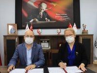 """Kırklareli'nde """"Türk Kızılay butik mağazası"""" işbirliği protokolü imzalandı"""