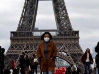Fransa'da son 24 saatte 16 bin 167 Kovid-19 vakası tespit edildi