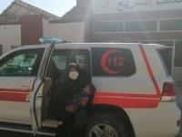 Teröristlerden ambulansa keskin nişancı saldırısı