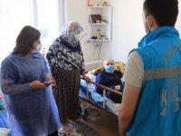 Kırklareli'nde evde aşı uygulaması sürüyor