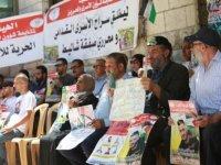 Filistin'den İsrail hapishanesinde 2 aydır açlık grevi yapan Ebu Atvan için Kızılhaç'a acil müdahale çağrısı