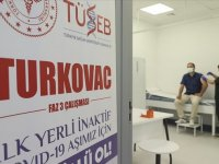 """""""TURKOVAC"""" aşısı, faz 3 çalışması kapsamında Kayseri'de gönüllülere uygulanmaya başlandı"""