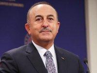 Dışişleri Bakanı Mevlüt Çavuşoğlu, Antalya'da iki ambulansın devir törenine katıldı