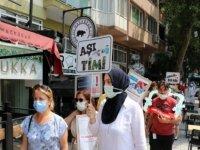 Bandırma'da 145 bin doz Kovid-19 aşısı yapıldı