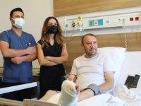 Eskişehir Şehir Hastanesinde kurulan Kronik Yara Bakım Servisi çevre illere de hizmet veriyor