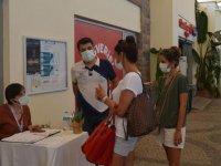 Kastamonu'da mobil aşı istasyonunda randevusuz Kovid-19 aşısı uygulaması başlatıldı