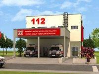 Nallıhan'da 112 Acil Sağlık Hizmetleri İstasyonu binası tamamlandı