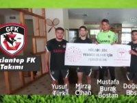 Bolu'da kamp yapan Süper Lig takımları, vatandaşlara aşı olma çağrısında bulundu