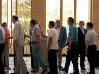 Trakya Üniversitesi Hastanesi sağlık çalışanları bayramlaştı