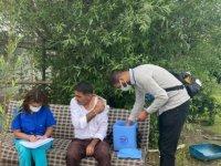 Van'da mobil ekipler aşı seferberliğiyle vaka artışlarını önlemeye çalışıyor