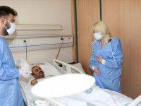 Türkiye'de çift kol nakli yapılan 5. hasta Ayılmazdır, hastane dışına çıkmaya hazırlanıyor