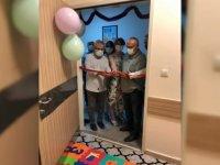 Karabük Üniversitesi Eğitim ve Araştırma Hastanesinde çocuklar için oyun odası oluşturuldu
