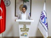 """Van Su ve Kanalizasyon İdaresi Genel Müdürü Kaplan """"içme suyu hasta ediyor"""" iddialarını yalanladı:"""