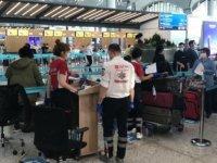 Salgın mağduru 190 Avustralya vatandaşı tahliye uçuşuyla ülkelerine dönüyor