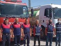Kırşehir'den sağlık ve itfaiye ekipleri, orman yangını bölgelerinde görevlendirildi