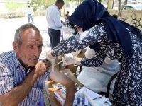 Muş'ta aşı timleri, en ücra köylere giderek aşı çalışmalarını sürdürüyor