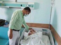 Hatay'da yuttuğu iğne midesini delen Suriyeli genç ameliyatla sağlığına kavuştu
