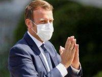 """Fransa Cumhurbaşkanı Macron: """"Sağlık krizini arkamızda bırakmış değiliz"""""""