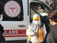 Karabük'te karantina ihlali yapan kadın belediye girişinde yakalandı