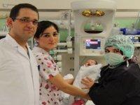 Doğuştan kalp rahatsızlığı bulunan Suriyeli çocuk Eskişehir'de sağlığına kavuştu