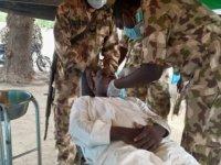 Nijerya'da Boko Haram saldırılarından etkilenen 10 bin kişiye sağlık taraması yapıldı