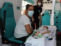 KKTC'li SMA hastası Asya bebek, Türkiye'de ücretsiz tedavi olacak