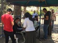 Mardin'de vatandaşlar aşıya ilgi gösteriyor
