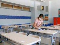 İstanbul'daki okullar, Kovid-19 tedbirleriyle tam zamanlı yüz yüze eğitime hazırlanıyor