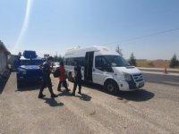 Eskişehir'de karantina ihlali yapan otobüsteki kadın yolcu sağlık ekiplerine teslim edildi