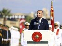 Cumhurbaşkanı Erdoğan, MSÜ Kara Harp Okulu Diploma Alma ve Sancak Devir Teslim Töreni'nde konuştu: (1)