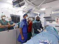 Türk hekimler, dört farklı ülkeden meslektaşlarına kardiyovasküler hastalıkların tedavisine ilişkin eğitim verdi