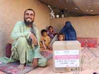 Yeryüzü Doktorları'ndan Afganistan'da 329 aileye gıda yardımı