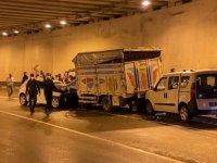 Bartın'da tünelde meydana gelen zincirleme kazada uzman çavuş yaşamını yitirdi