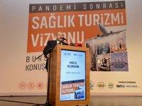 """Sağlık Bakan Yardımcı Eldemir, """"Pandemi Sonrası Türkiye Sağlık Turizmi Vizyonu Paneli""""nde konuştu:"""