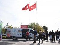 """Türk Kanser Derneğinden Sarıyer Meydanında """"farkındalık"""" etkinliği"""