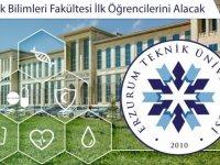 Erzurum Teknik Üniversitesi Sağlık Bilimleri Fakültesi ilk öğrencileriyle eğitime başladı