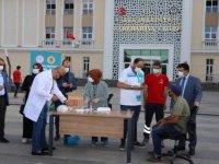 Cizre'de aşı seferberliği sürüyor