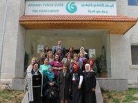 Ürdün'deki Amman Yunus Emre Enstitüsü yüz yüze eğitime geri döndü