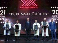 """YÖK'ten Erciyes Üniversitesine """"Topluma Hizmet Ödülü"""""""