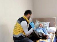 Yatalak hasta belediyenin evde sağlık hizmetiyle sağlığına kavuştu